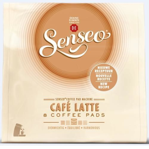Cápsula Café 8 Senseo Cafe Latte