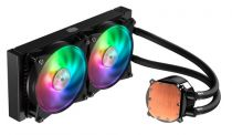Cooler Master MasterLiquid ML240R RGB, low profile dual chamber pump,