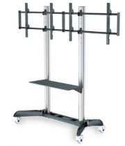 buy LCD Wall mount - Mount DIGITUS Dual TV-Cart