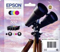 Comprar Cartucho de tinta Epson - EPSON Cartucho Tinta PACK 4 COLOR 502 - XP5100/105  C13T02V64020