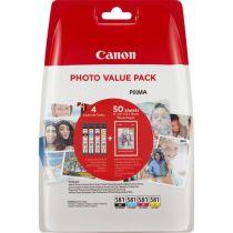 Comprar Cartucho de tinta Canon - Canon CLI-581 BK/C/M/Y Photo Value Pack Blistered W/O Security 2106C005
