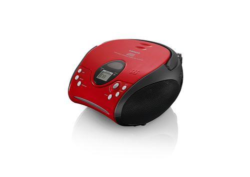 Radio CD Lenco SCD-24 red/black