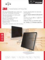 achat Protecteur Ecran - 3M PF220W9F Filtre confidentialité pour 54,6-55,9cm (21,5 -22 ) 16:9