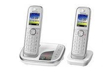 Comprar Teléfonos Inalámbricos DECT  - Telefono Panasonic KX-TGJ322GW KX-TGJ322GW