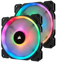 Comprar Otros Componentes - Corsair LL Series, LL140 RGB, 140mm Dual Light Loop RGB LED PW CO-9050074-WW