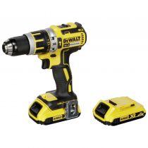 achat Visseuse - DeWalt DCD795D2-QW 18V 2x 2,0 Ah Compact drill in TStak Box DCD795D2-QW