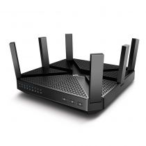Comprar Router - TP-LINK AC4000 Tri-Band Wi-Fi Router,Broadcom 1.8GHz Qual-Core CPU,  1 ArcherC4000