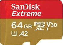 Comprar Tarjeta Micro SD / TransFlash - SanDisk microSDXC V30 A2 64GB Extreme 160MB SDSQXA2-064G-GN6MA Tarjeta SDSQXA2-064G-GN6MA
