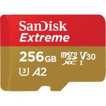 SanDisk microSDXC V30 A2   256Go Extreme 160MB SDSQXA1-256G-GN6MA