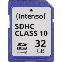 achat Secure Digital SD - Intenso SDHC Card           32Go Class 10