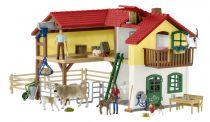 buy Animal Figures - Schleich Farm World        42407 Large Farm House