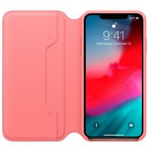 Comprar Accesorios Apple iPhone X / XS - Apple Funda flip cover Piel rosa peónia para iPhone Xs Max MRX62ZM/A