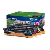 achat Toner imprimante Brother - BROTHER TONER TN243 PACK 4 COULEUR HL-L3230CDW/ TN-243CMYK