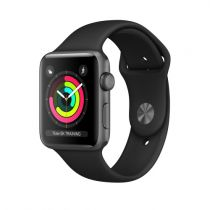 Comprar Smartwatch - Smartwatch Apple Watch Series 3 GPS 42mm Grey Alu Negro Sport Band MTF32ZD/A