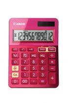 Comprar Calculadoras - Canon Calculadora LS-123K Rosa - Visor de 12 dígitos grande con função 9490B003AA