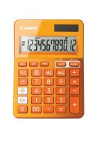 achat Calculatrices - Canon Calculatrice LS-123K Orange - Visor de 12 dígitos grande avec fu 9490B004AA
