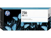 achat Encre imprimante HP - HP 730 300-ml Gray Ink Cartridge P2V72A