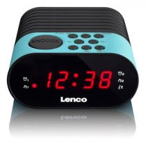 buy Alarm clock - Alarm clock Lenco CR-07 blue
