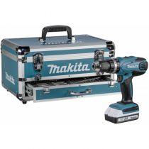 Comprar Atornilladores a batería - Makita HP457DWEX4 + Accessories Compact Drill in Case HP457DWEX4
