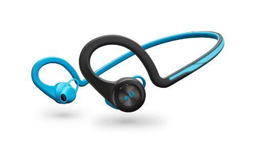 Auriculares Plantronics Bluetooth Backbeat Fit Azul +  Funda