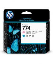 achat Encre imprimante HP - HP 774 Light Magenta/Light Cyan Printhead P2V98A