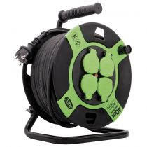 Comprar Adaptadores para Red - REV Cable Tambor Plastic 40m IP 44 4-fold Negro green 10217412
