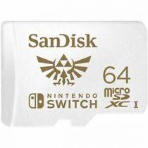 buy Micro SD / TransFlash - SanDisk MicroSDXC 100MB     64GB Nintendo V2   SDSQXAT-064G-GNCZN