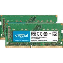 achat Mémoire portables - Crucial 16Go DDR4 2400 MT/s Kit 8GBx2 SODIMM 260pin pour Mac CT2K8G4S24AM