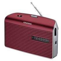 achat Radios / récepteur mondial - Radio Grundig Music 60 red/silver GRN1540