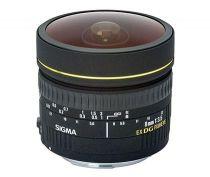 achat Objectif pour Nikon - Objetif Sigma EX 3,5/8 fisheye DG   NAFD 485959