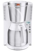 Comprar Cafeteras - Cafeteira Melitta Look Therm Timer Blanco | 15 Cups/1,25 L | 1.000 Wat 1011-15