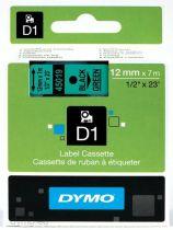 Comprar Accesorios Terminal Punto Venta - Dymo D1-Fita / Tape S0720590 | black, Negro on green, 7 m S0720590