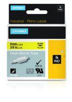 Comprar Accesorios Terminal Punto Venta - Dymo Rhino Label 18054, Heat-shrink Tube | 9 mm x 1,5 m, Negro on yell 18054