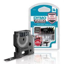 Comprar Accesorios Terminal Punto Venta - Dymo D1 Vinylband 1978365, Fita / Tape   12 mm, Blanco on black 1978365