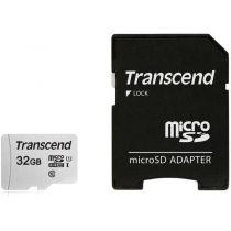 Comprar Tarjeta Micro SD / TransFlash - Transcend microSDHC 300S-A  32GB Class 10 UHS-I U1