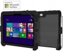 achat Accéssoires Microsoft Surface/PRO/G - Griffin Survivor Slim Case Microsoft Surface Go Noir GFB-011-BL GFB-011-BLK