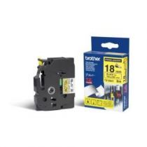 achat Consommables POS - BROTHER FITA 18MM Noir/AMARELO TZES641