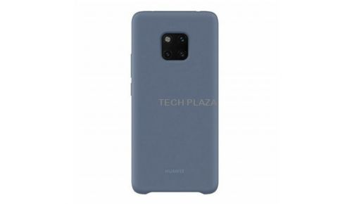 Funda trasera para Huawei Mate 20 Pro Silicona Azul claro