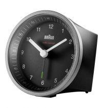buy Clock - Braun BC 07 SB-DCF  silver/black