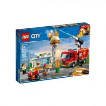 Comprar Lego - LEGO City 60214 Burger Bar Fire Rescue | 5+ | 327 pcs