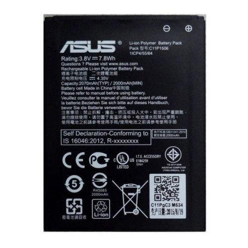 Bateria C11P1506 ZC500TG Asus Zenfone Go (5.5´´)