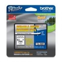 achat Consommables POS - BROTHER FITA Noir/BRANCO NAO LAMINADA 3.5X8MM TZE-N201