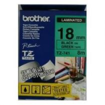 Comprar Consumibles POS - BROTHER FITA 18MM Negro/VERDE BROTZE741