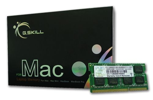 Memória RAM G.Skill SO-DIMM 4GB DDR3-1066 para iMac,MacBook/Pro,MacMin