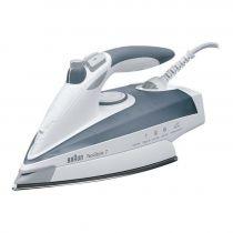 Comprar Planchas Vapor - Plancha Vapor Braun TexStyle 7 TS775 ETP Blanco/blue 2400W Eloxal 0X12711098