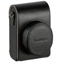 buy Panasonic Cases - Case Panasonic DMW-PLS79XEK Leather Bag black vertical