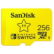 buy Micro SD / TransFlash - SanDisk MicroSDXC 100MB  256GB Nintendo      SDSQXAO-256G-GNCZN