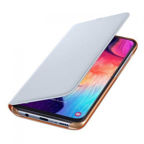 Funda Samsung Galaxy A50 Wallet Cover EF-WA505 blanca
