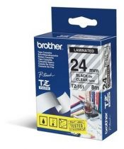 achat Accessoires Imprimante - Brother labelling tape TZE-151 Noir on transparent    24 mm TZE151
