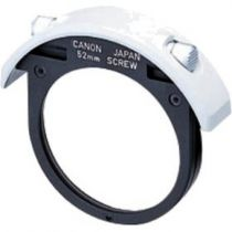 Canon filter holder pour drop in filter 52mm